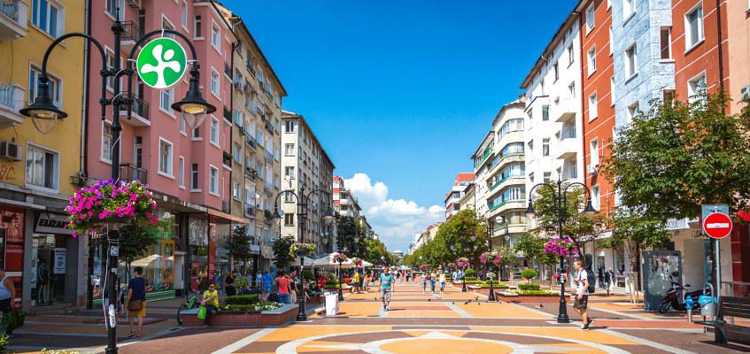 Sofijos miestas Bulgarijoje