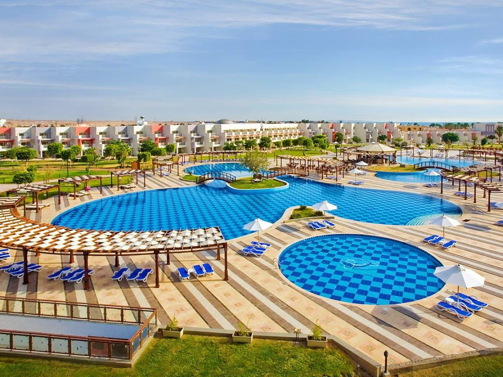 SUNRISE Grand Select Crystal Bay Resort viešbutis Egipte